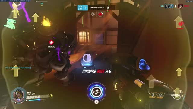 Watch Rein... GIF on Gfycat. Discover more Ana, Blizzard, Charges, Map, Nano, OW, Off, Overwatch, Rein, The GIFs on Gfycat