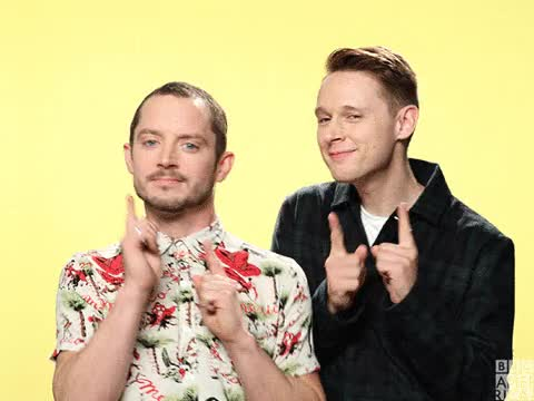 Watch this dance GIF on Gfycat. Discover more celebs, elijah wood GIFs on Gfycat