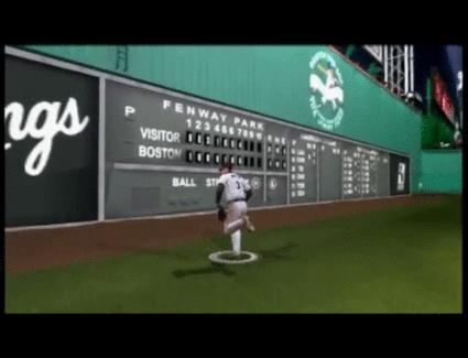 gamephysics, [MLB 2K6] Robbed! (x-post /r/baseball) (reddit) GIFs