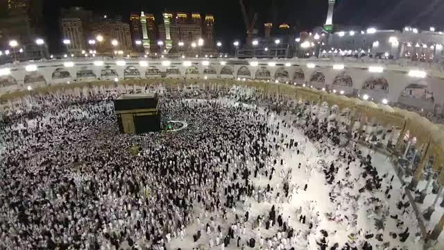 Watch and share Mecca Tawaf Time Lapse GIFs on Gfycat