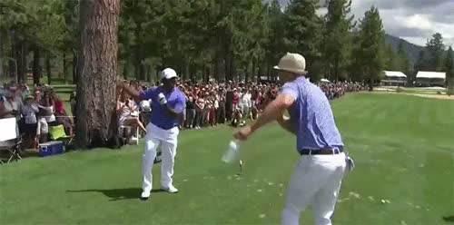 Watch and share Carlton Dance GIFs and Golf GIFs on Gfycat