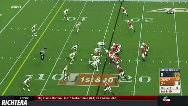 Watch 6 GIF on Gfycat. Discover more ACC, College Football, ESPN, Gameday, Miami Hurricanes, Notre Dame, Playoffs, RichtEra, Sports GIFs on Gfycat