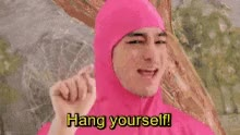 Watch and share Pink Guy GIFs on Gfycat