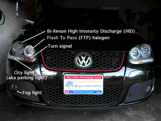 Watch and share GTI Front Lights GIFs on Gfycat