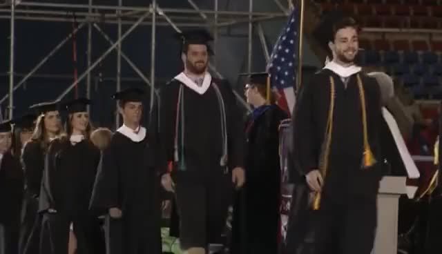 Watch this graduation GIF on Gfycat. Discover more graduate, graduation, happy graduation GIFs on Gfycat