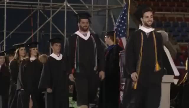 Watch and share Happy Graduation GIFs on Gfycat