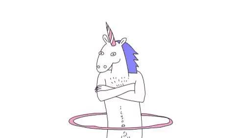 Watch and share Hula Hoop GIFs and Unicorn GIFs on Gfycat