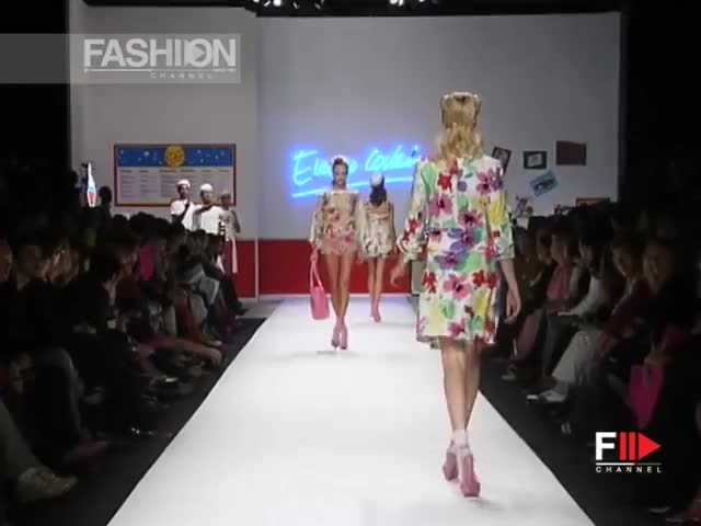 Watch and share Enrico Coveri GIFs and Ss08 GIFs by fashion show on Gfycat
