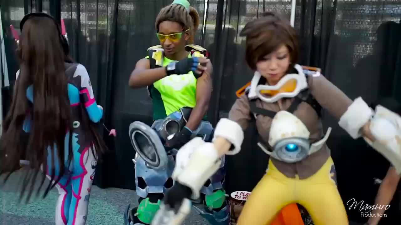 cosplay, overwacth, overwatch, Overwatch Cosplay GIFs