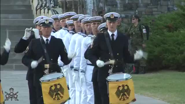 Watch German Navy Drill Team GIF on Gfycat. Discover more Canadian Army, Ottawa,, ParliamentHill GIFs on Gfycat