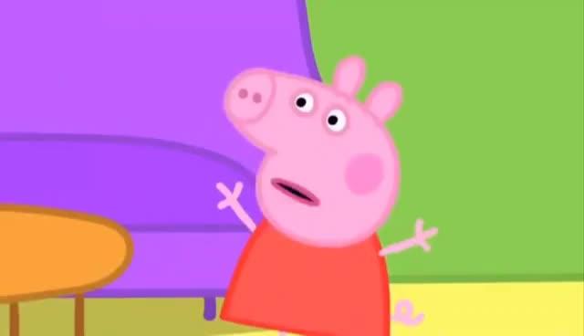 Watch and share Peppa Pig La Cerdita En Español, Videos De Peppa Pig En Español Capitulos Completos GIFs on Gfycat