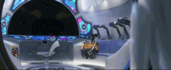 Watch and share Wall E animated stickers on Gfycat