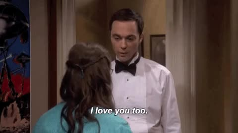 Watch and share Mayim Bialik GIFs and Jim Parsons GIFs on Gfycat