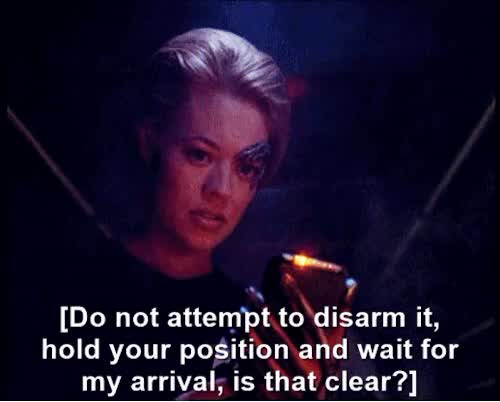 Watch Samantha Carter is my muse GIF on Gfycat. Discover more 7 of 9, i made this, jeri ryan, seven of nine, star trek voyager, trekstuff GIFs on Gfycat