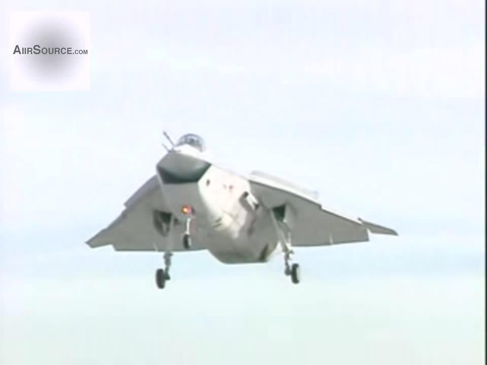 militarygfys, Boeing X-32A Joint Strike Fighter - Field Carrier Landing Practice (reddit) GIFs