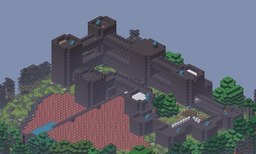 dwarffortress, A stone sense time lapse of my latest fortress Empirelash (reddit) GIFs