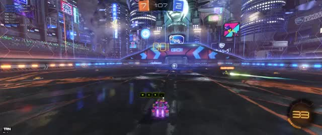 Watch Check out my video! Rocket League | Captured by Overwolf GIF by Overwolf (@overwolf) on Gfycat. Discover more Gaming, Overwolf, Rocket League, TeamGoal GIFs on Gfycat