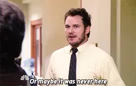 Watch and share Parks And Rec GIFs and Chris Pratt GIFs on Gfycat
