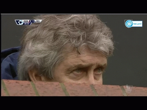 soccergifs, What Pellegrini saw today (X-post from r/soccer from u/drivebymedia ) (reddit) GIFs