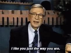 Watch and share Mr Rogers Middle Finger GIFs on Gfycat