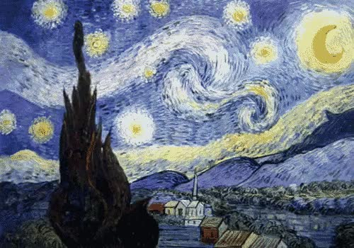 Watch van gogh GIF on Gfycat. Discover more related GIFs on Gfycat