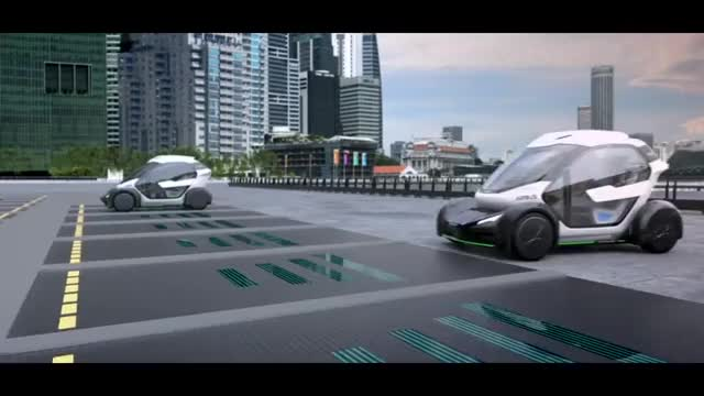 Watch Airbus presents concept for flying car at Geneva Motor Show GIF on Gfycat. Discover more cars, design, transport GIFs on Gfycat