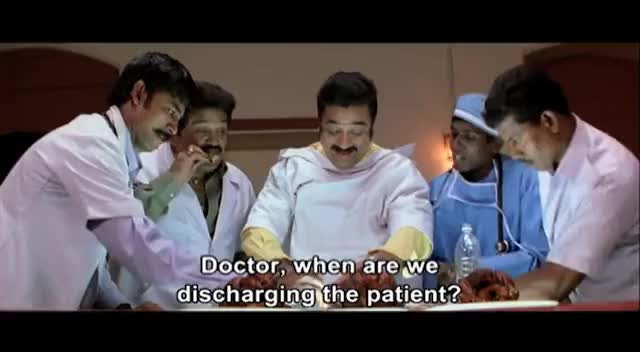 Watch and share Vasool Raja MBBS Full Movie | Vasool Raja MBBS Full Movie Comedy Scenes | Kamal Prakashraj Comedy GIFs on Gfycat