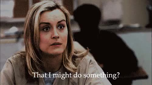 Watch Are you afraid GIF on Gfycat. Discover more taylor schilling GIFs on Gfycat