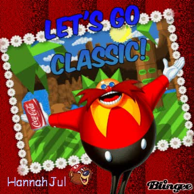 Watch and share Retro Eggman - Let's Go Classic! GIFs on Gfycat