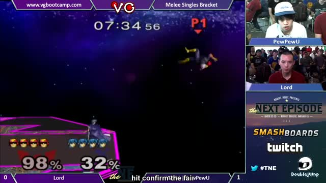 PPU late fair->fsmash edgeguard Lord