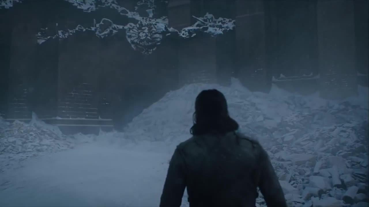 dragon, drogon, game of thrones, jon snow, kit harington, season 8, Game of Thrones Drogon Surprises Jon GIFs
