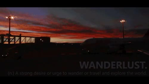 Watch and share Wanderlust Gif GIFs and Strong Desire GIFs on Gfycat