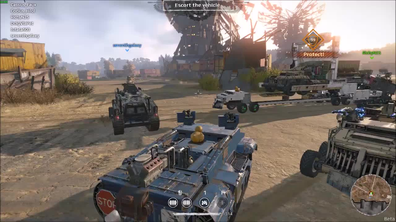 Crossout: Flying Truck GIFs