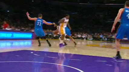 Watch and share Wayne Ellington And Ed Davis, Los Angeles Lakers GIFs by Off-Hand on Gfycat