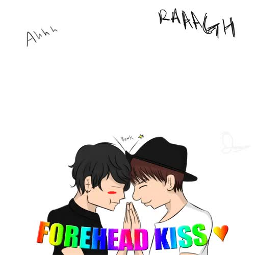 Watch and share Forehead Kiss GIFs and Maknae GIFs on Gfycat