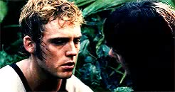 Watch the hunger games; GIF on Gfycat. Discover more by alex, catching fire, finnick odair, gif, thgedit GIFs on Gfycat
