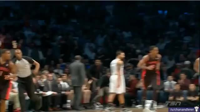 Watch Raptor fan lint rolls his shirt after Lowry's 3 (reddit) GIF by @chanandlerer on Gfycat. Discover more nba GIFs on Gfycat