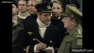 """Watch and share Dad's Army: """"Don't Tell Him Pike!"""" GIFs on Gfycat"""