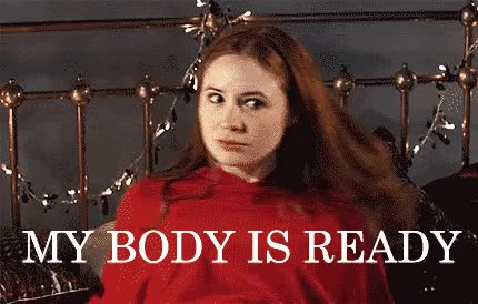 Watch and share My Body Is Ready GIFs and Karen Gillan GIFs on Gfycat