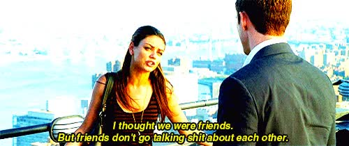 Watch and share Friends, Friends With Benefits, Mila Kunis, Movie, Tumblr GIFs on Gfycat