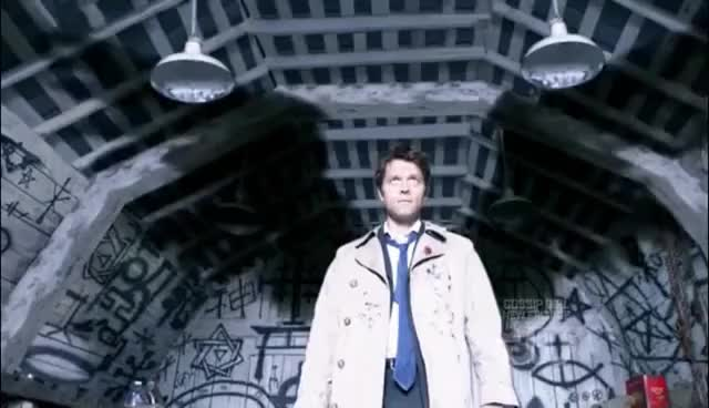 Watch Supernatural 4x01 - 06 Castiel, The Angel HD GIF on Gfycat. Discover more related GIFs on Gfycat