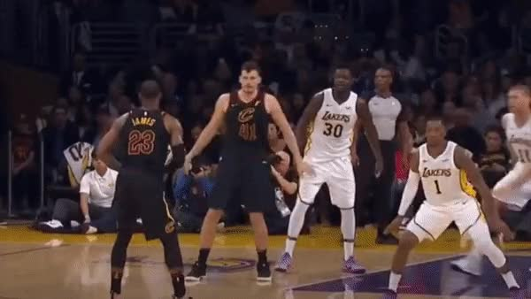 Watch and share Lebron James GIFs and No Look Pass GIFs on Gfycat