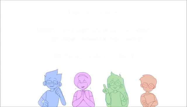Watch and share Thank You! [Homestuck Animation] GIFs on Gfycat