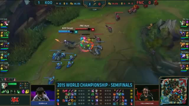 Watch and share [Worlds 2015] KOO Smeb #4 FNC GIFs by ITCC on Gfycat