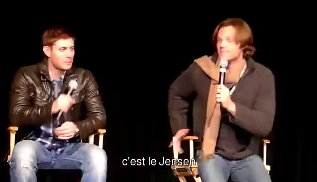 Watch The Jensen GIF on Gfycat. Discover more ackles, dance, jared, jensen, padalecki GIFs on Gfycat