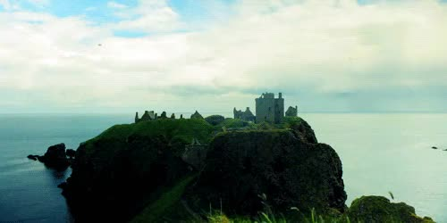 Watch and share Dunnottar Castle GIFs and Scotland GIFs on Gfycat