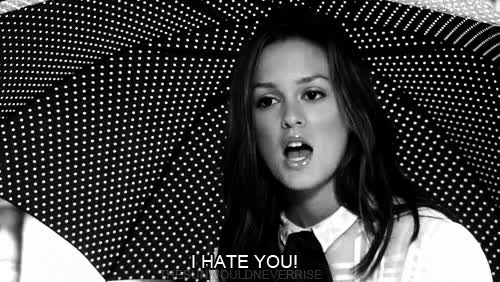 Watch and share Leighton Meester GIFs and Hate GIFs on Gfycat