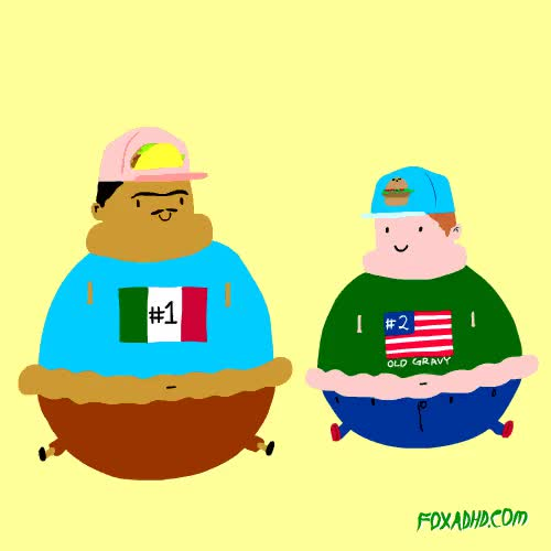 Watch Mexican Pride GIF on Gfycat. Discover more FOXADHD, corpulent, fast food, fat, gif, health, lol, mexico, obesity, salud, usa GIFs on Gfycat