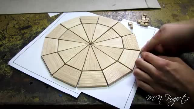 Watch and share Making A Simply Wooden Clock Using Epoxy GIFs on Gfycat