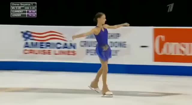 Watch and share Anna Shcherbakova Lands Two Quad Jumps To Win 2019 America Skate Grand Prix GIFs by MyNameGifOreilly on Gfycat